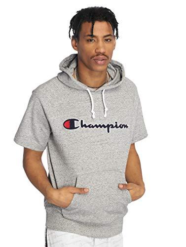 Champion sweatshirt, korte mouwen, grijs