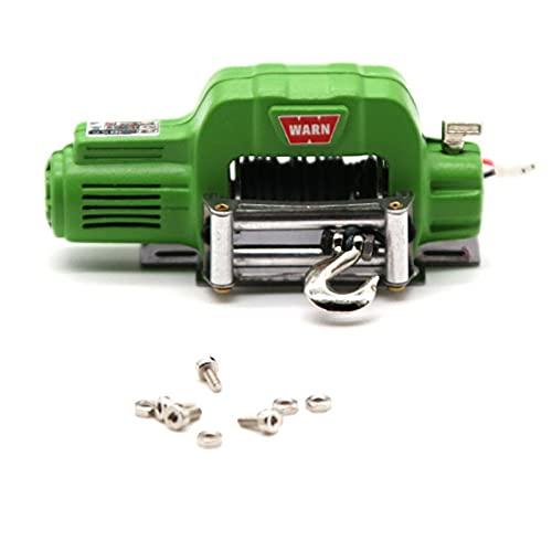 Cabrestante EléCtrico ,Cabrestante VehíCulos EléCt Caballo eléctrico de control de metal de control inalámbrico de coche RC para coche de juguete TRAXXAS-TRX4 TRX6 TRX-4 SCX10 II 90046 TF2 CC0
