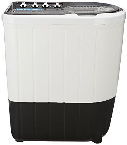 Whirlpool 7 Kg 5 Star Semi-Automatic Top Loading Washing Machine (SUPERB ATOM 7.0, Grey, TurboScrub Technology)