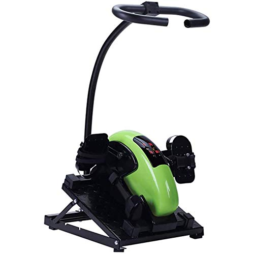 XJZHANG Bedridden Rehabilitation Pedal Exerciser Tragbares Mini-Heimtrainer Hand Fuß Pedal Trainer Älterer Fahrradtrainer Geeignet für Heimbett Rollstuhl Fitness