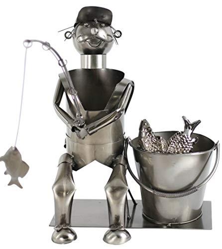 Solinga Flaschenhalter Geschenke für Angler tolle Geschenkidee für Männer die gerne Angeln und lustige Angler Geschenke suchen
