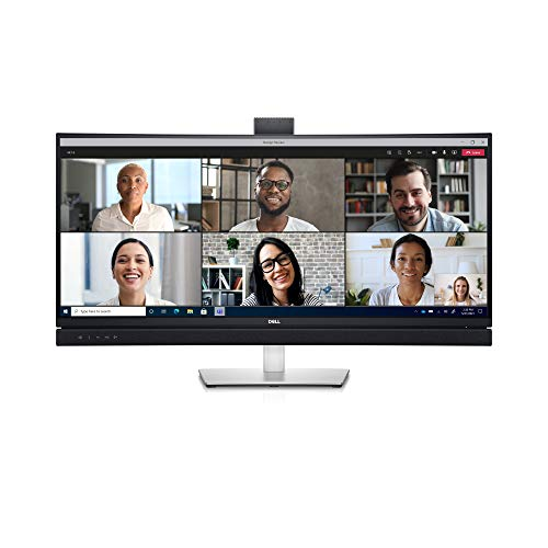 Dell Std 34 Curved Video Conferencing