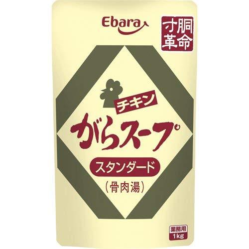 エバラ チキンがらスープ スタンダード(骨肉湯) 業務用 1kg【入り数2】
