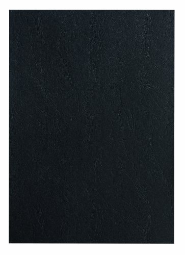 Pavo Einbanddeckel-Lederoptik DIN A4, 250 g/m², 100-er Pack, schwarz