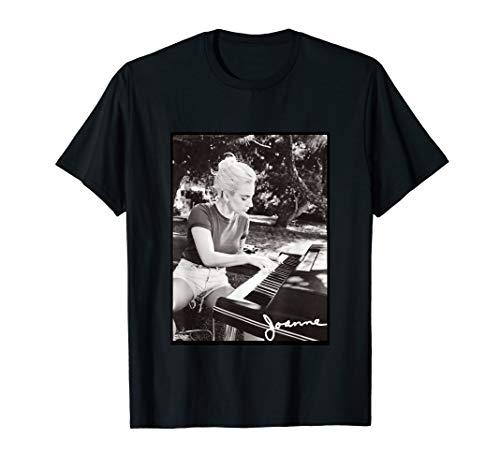 Lady Gaga Joanne Piano Photo T-Shirt