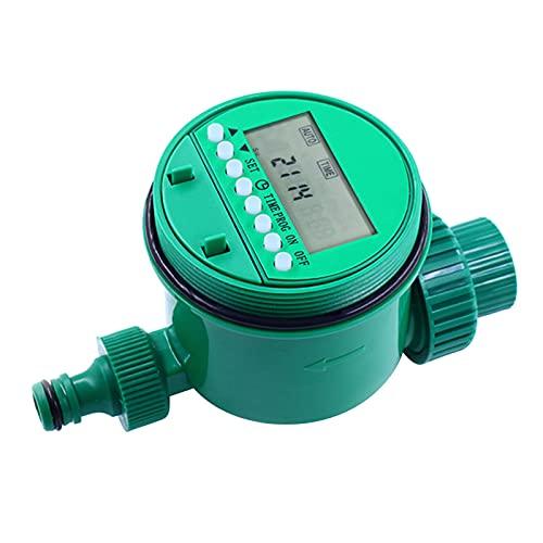 Weytoll Controlador de Riego Automático Digital LED hasta 16 Programas Temporizador de Riego para Jardines Countyards Céspedes Invernadero