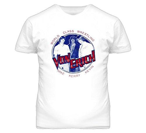 Kerry Von Erich Von Erich Brothers Wrestling T Shirt XL White