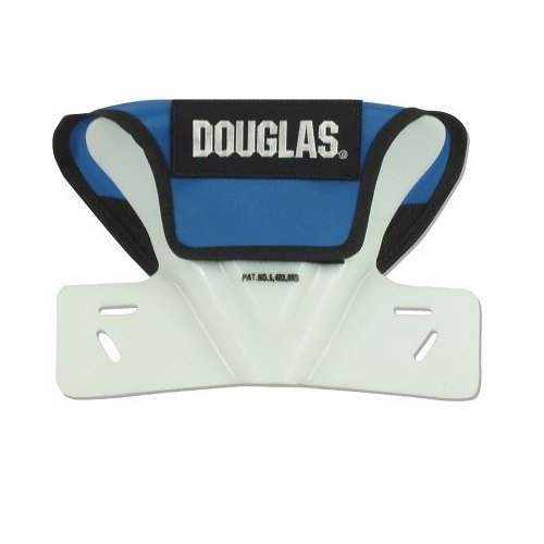 Douglas Football Butterfly Restrictor Cowboy Collar, Attach to Shoulder Pads (Royal Blue)