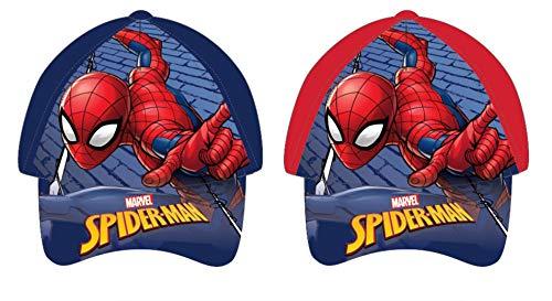 Disney Gorra Spiderman Berretto, Multicolore, Taglia Unica Bambino
