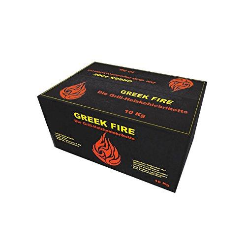Greek Fire -   Holzkohle Briketts