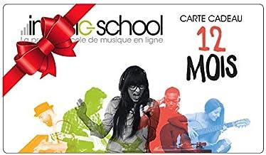 Carte abonnement 12 mois imusic-school