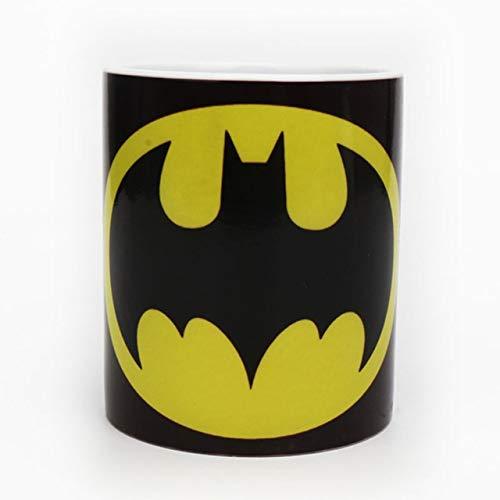Taza de agua Nuevo Batman Dark Knight tazas de café y tazas del cambio de color sensible al calor de la Copa Taza Transformación mágica taza del regalo envase (Capacity : Foam Box, Color : B Style)