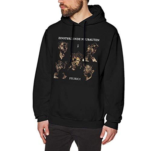 Yougou Einsturzende Neubauten Feurio! Hoodies Sweatshirts Long Sleeve Tops Mens Casual Printed No Pocket Pullover