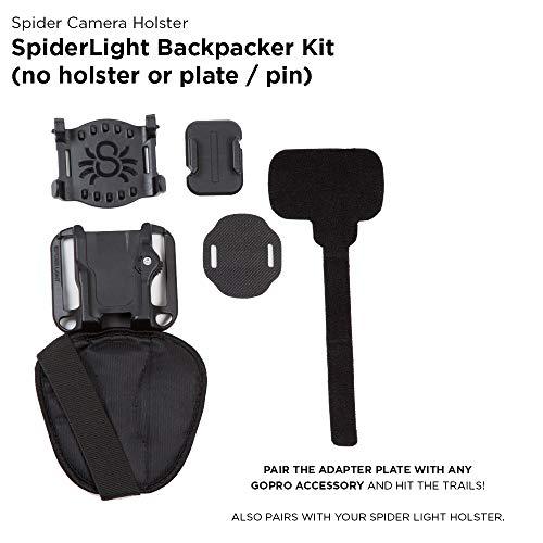 spiderholster Spiderlightバックパックアダプタ