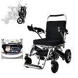 silla de ruedas Ancianos Silla de Ruedas Eléctrica, Plegable Ultra-Ligero Y Conveniente Vespa Ancianos Automática, Puede Soportar 160Kg adulto