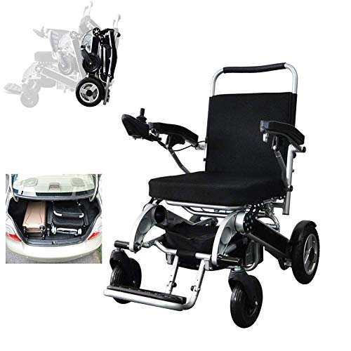 OH Ältere Elektro-Rollstuhl, Faltbar Ultra- Licht Und Bequeme Automatische Ältere Scooter, Can Bär 160Kg Tablett