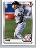 2020 Bowman Draft #BD-178 Anthony Volpe RC Rookie New York Yankees Baseball Trading Card. rookie card picture