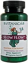 Vitanica, Slow Flow, Menstrual Flow Support, 60 Vegetarian Capsules
