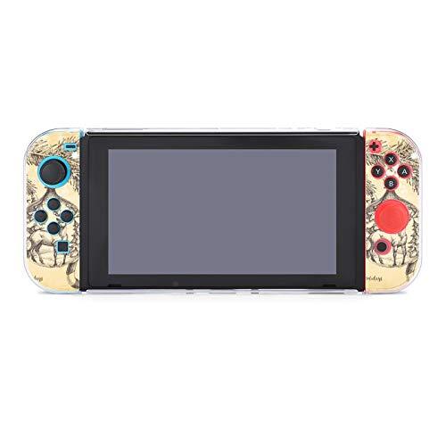 Funda para Nintendo Switch Retro Tarjeta de Navidad Árbol de pino y...