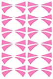 BoerMee Dva Cosplay Temporary Face Tattoo Sticker (One Size, Pink)