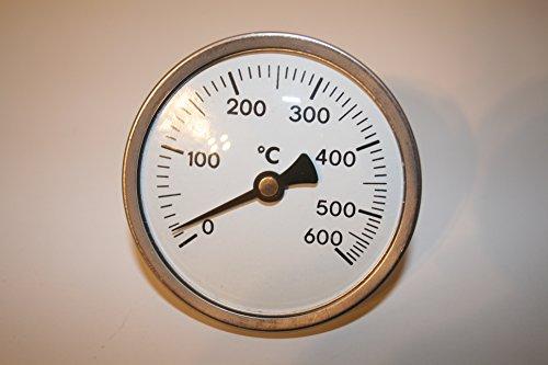 600°C Backofenthermometer Standthermometer Holzbackofen Thermometer Edelstahl