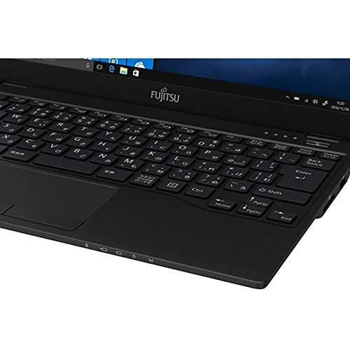 富士通13.3型ノートパソコンFMVLIFEBOOKUH-X/C3ピクトブラック(Corei7/メモリ8GB/SSD512GB/OfficeH&B2016)FMVUXC3B