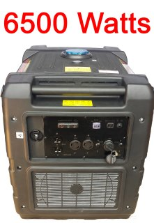 Digital 6500watt Inverter Generator Pure...