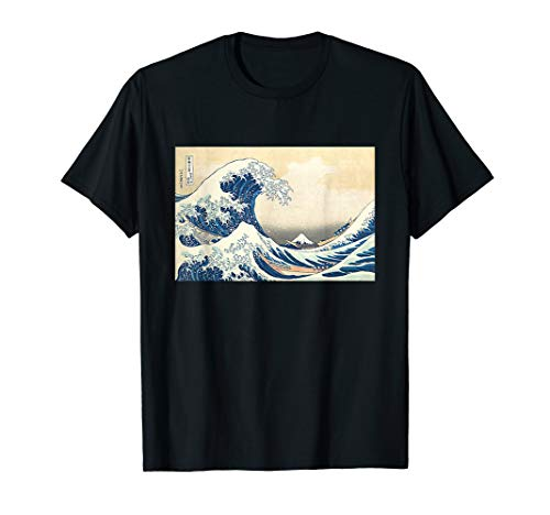 Die Große Welle von Kanagawa von Katsushika Hokusai T-Shirt