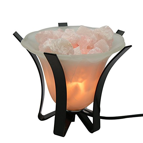 Yogavni, Rose Quartz Tranquility Lamp, 1 Piece