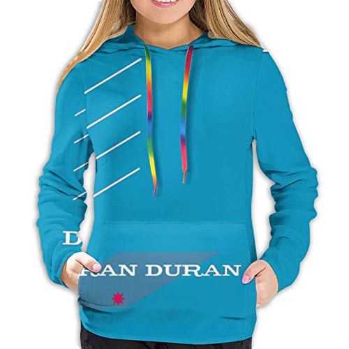 Fangner Duran Duran Women's Sweatshirts Autumn Winter Leisure Hoodie Black