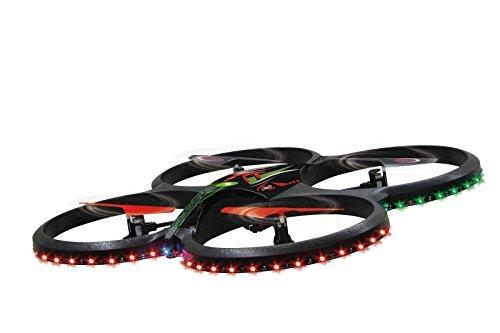 Jamara 038561 - Flyscout Quadrocopter con Bussola/LED