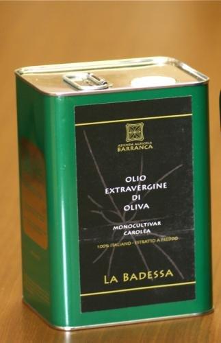 有機栽培 E.X.V.オリーブオイル 『バランカ』 3l バランカ農園