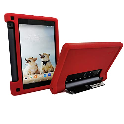 MingShore Rugged Case for Lenovo Yoga Tab 3 8 YT3-850F YT3-850M YT3-850L 8 inch Tablet, Kid Friendly Silicone Cover fit Lenovo Yoga Tab 3 HD 8' ZA090094US Tablet Yoga Tab 3 8.0' WXGA Tablet