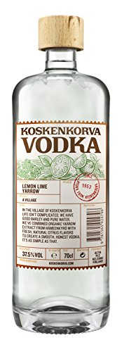 Koskenkorva Lemon Lime Yarrow Vodka 37,5% 1 Liter