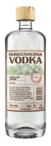 Koskenkorva Vodka LEMON LIME YARROW Flavoured 37,5% - 1000 ml