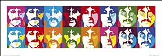 beatles collage poster
