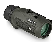 10x magnification and 36mm objectives lens, the Solo Monocular is a small, lightweight optic with fully multi-coated lenses, increasing the light transmission and resolution giving you the clear, crisp images you want. The monocular is fully rubber a...