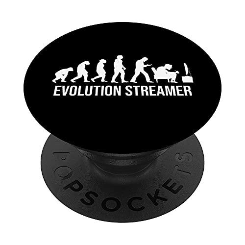 TV-Streaming Evolution Movie TV-series Internet TV-Streamer PopSockets PopGrip Intercambiable
