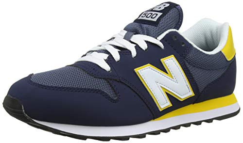 New Balance Herren 500v1 Sneaker, Pigment-Pigment blau, 40 EU