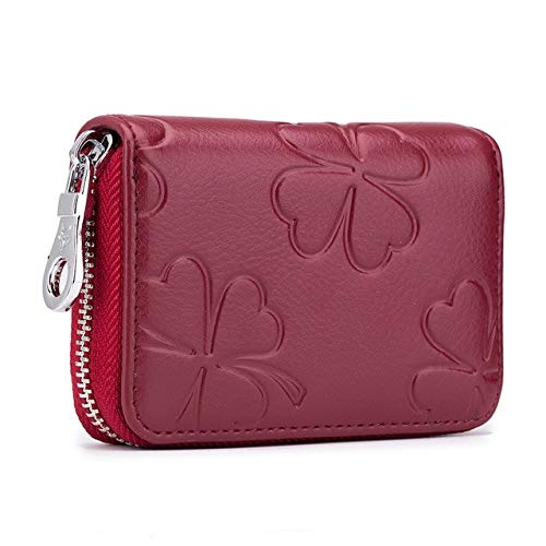 Read About Gimax Card & ID Holders - Latest Women Spilt Leather Wallet Female Zipper Purse Small Zip...