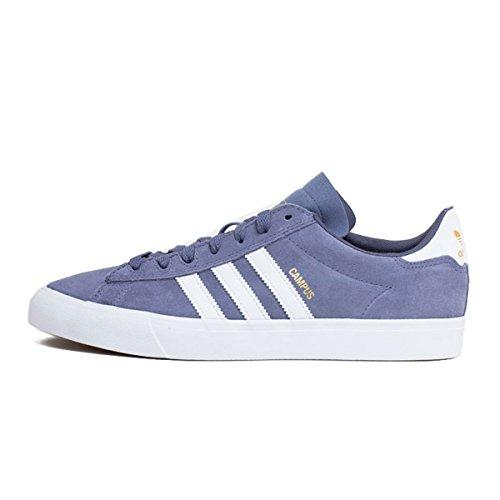 Adidas Campus Vulc II Raw Indigo/White Zapatillas tamaño US 10,5