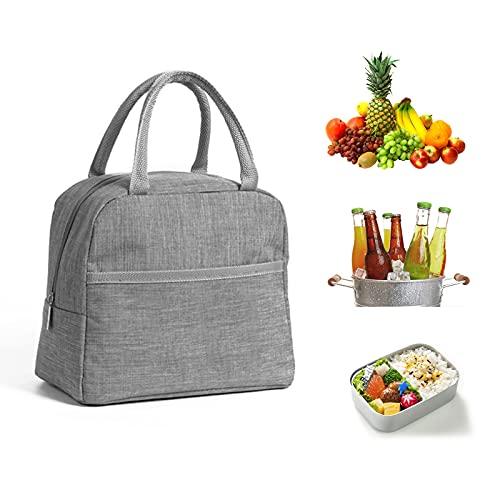 Mini Lunch Tasche,CHB 5L Kühltasche Picknick Korb Isoliert Klein Lunchtasche Lunchbag Thermo Tasche Damen Und Herren Und Kinder Für Arbeit, Schule Und Unterwegs Picknick