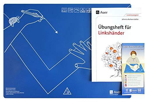 Schreibtisch-Auflage für Linkshänder DESK-PAD LEFTY®, mit Übungsheft: Desk-Pad Lefty, mit einem Begleitheft für Linkshänder (Alle Klassenstufen) (Linkshändigkeit)