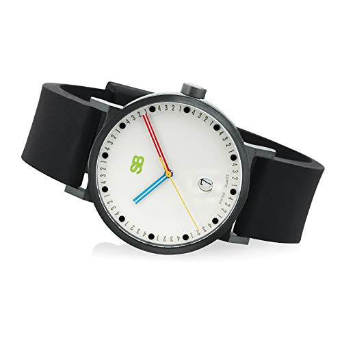 SB16.1-B: SB Metropolis Collection - Reloj de cuenta atrás, color negro
