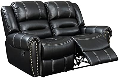 Groovy Amazon Com Delange Reclining Power Loveseat With Adjustable Ibusinesslaw Wood Chair Design Ideas Ibusinesslaworg