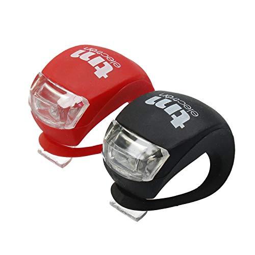 TM Electron TMTOR003 Set de luces LED frontal y trasera de silicona...