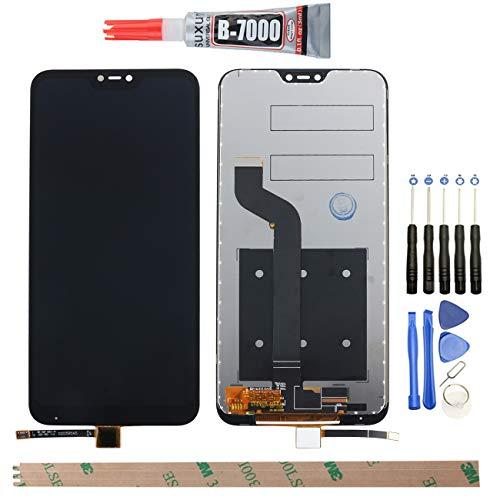 YHX-OU para Xiaomi Mi A2 Lite/Redmi 6 Pro LCD Display de 5,84 Pulgadas de reparación y sustitución LCD Display + Touch Screen Digitizer con Herramientas Incluidas (Negro)