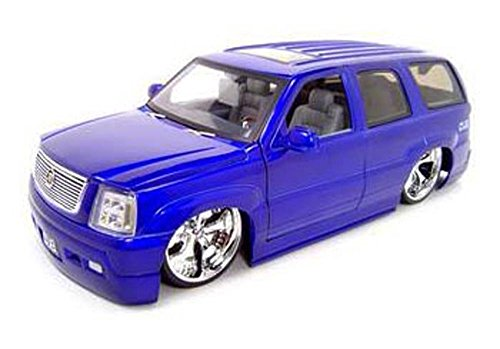 Jada Cadillac Escalade SUV, Purple Toys Dub City 63102 - 1/18 Scale Diecast Model Toy Car