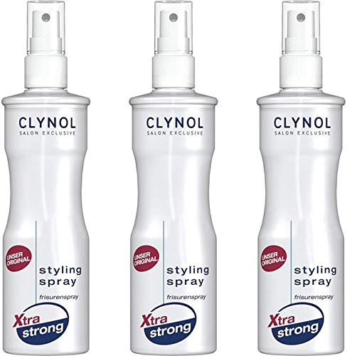 Clynol Xtra Strong Styling Spray 3x250 ml