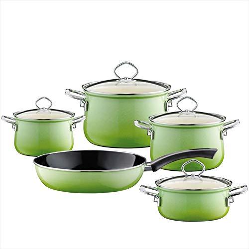 Riess 0558-036 - Juego de 5 piezas de nouvelle, color verde